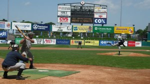 McCoy stadium, home of the Pawtucket Red Sox.