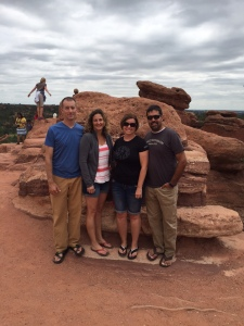 Dear friends, Andy and Jodie Hartfield, welcomed us into their Colorado home during our 11,000 mile, six-week road trip.